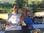Jerry and Jessica Seinfeld sip wine on an Italian getaway