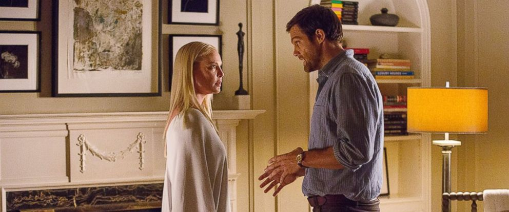 "PHOTO: Katherine Heigl and Geoff Stults in a scene from ""Unforgettable."""