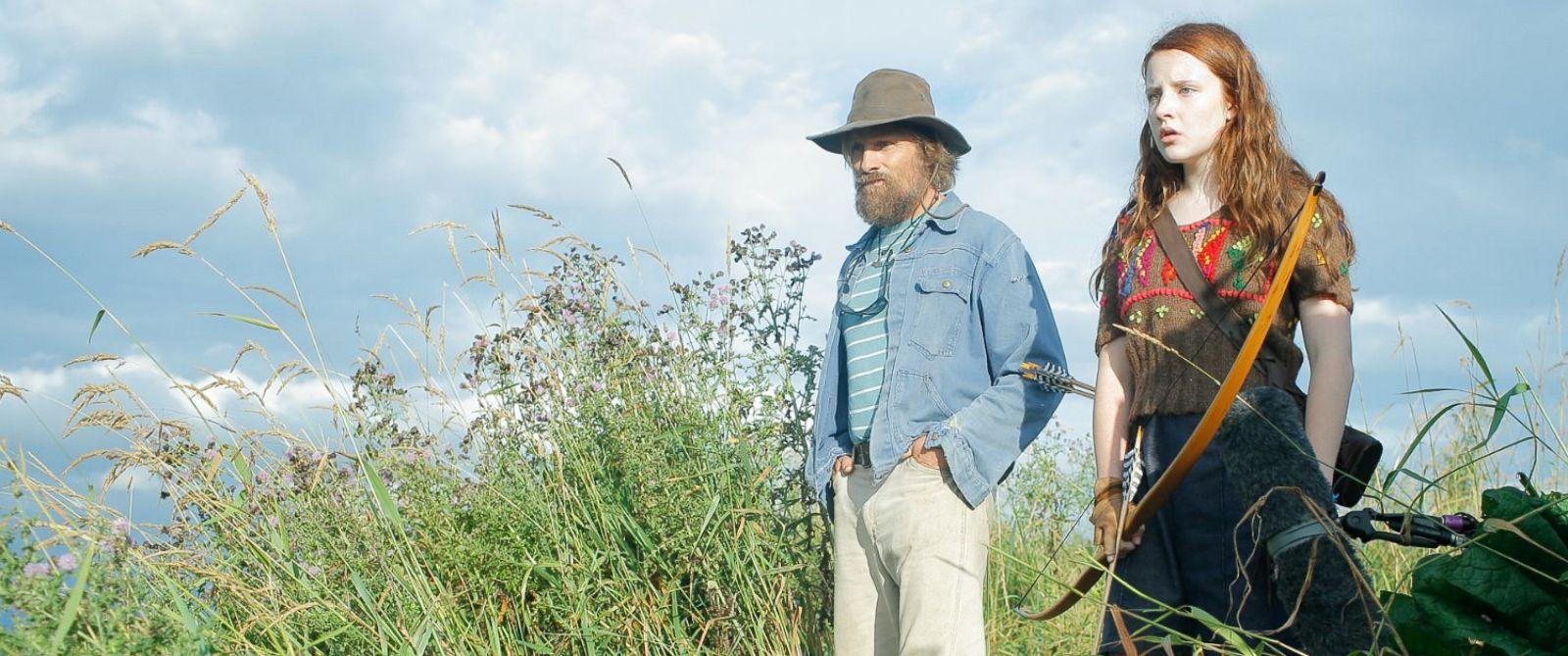 "PHOTO: Viggo Mortensen and Samantha Isler in the movie, ""Captain Fantastic,"" 2016."