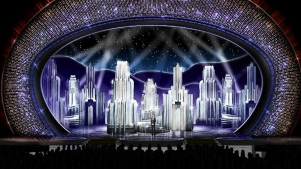 PHOTO: The Academy of Motion Picture Arts & Sciences shared an image of this year's Oscars stage.