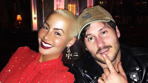 PHOTO: Amber Rose and Val Chmerkovskiy are seen here in a photo posted to Amber Rose's Instagram account.