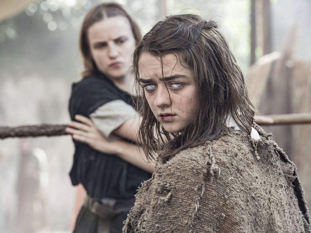 PHOTO: Maisie Williams as Arya Stark in the Game of Thrones.