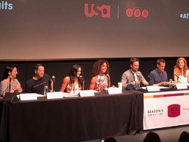 Meghan Markle gets surprise question about Prince Harry at 'Suits' cast event