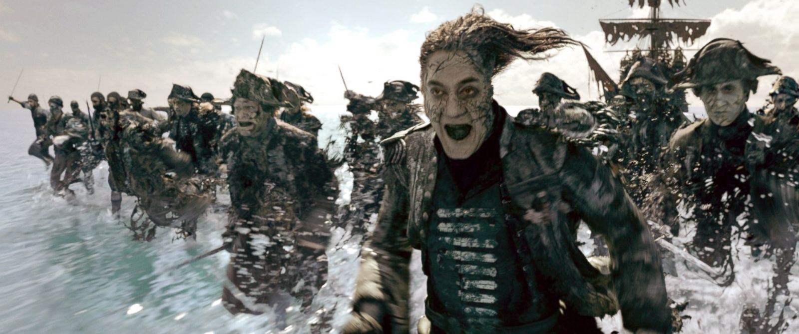 """PHOTO: Javier Bardem in """"Pirates of the Caribbean: Dead Men Tell No Tales."""""""