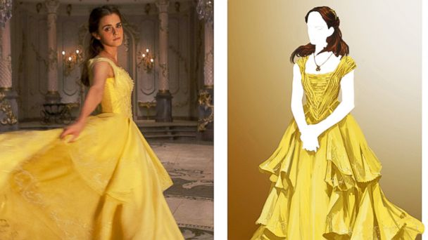 PHOTO: Oscar-winning costume designer Jacqueline Durran created costumes for Belle set in the fairy tale world of 18th century France.