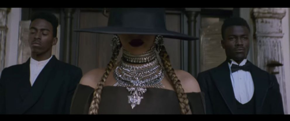 "PHOTO: Beyonce is seen in her video ""Formation."""