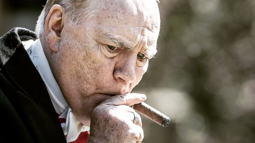 PHOTO: Brian Cox, as Winston Churchill, in