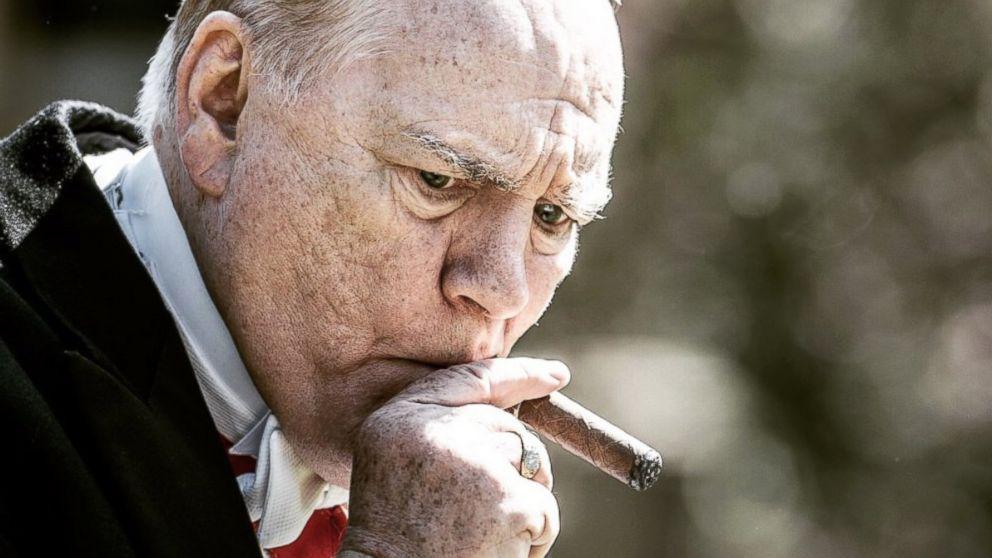 PHOTO: Brian Cox, as Winston Churchill, in