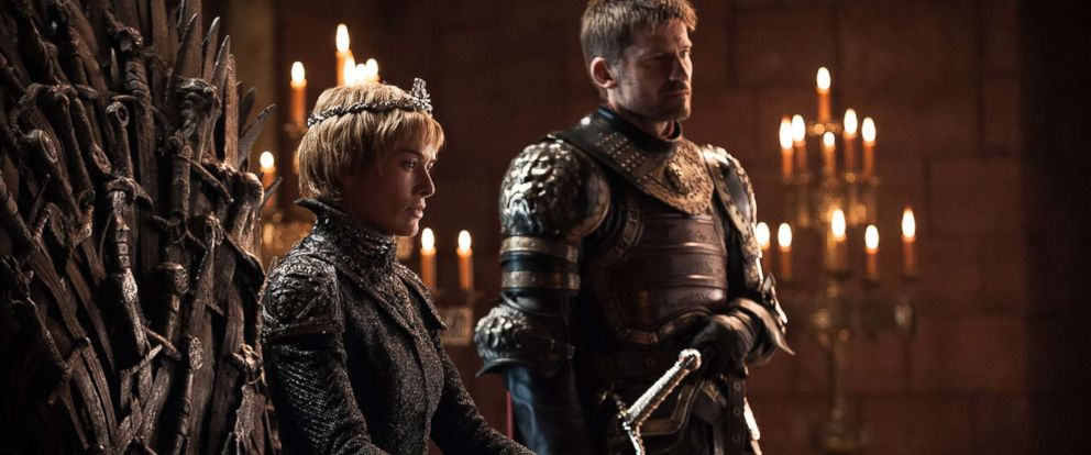"""PHOTO: Lena Headey as Cersei Lannister and Nikolaj Coster-Waldau as Jaime Lannister in the """"Game of Thrones."""""""