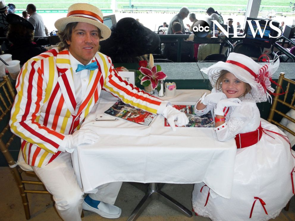 PHOTO: Larry Birkhead is seen here with his daughter Dannielynn dressed in costumes from the Disney movie Mary Poppins at the Kentucky Derby in this 2013 photo. The Walt Disney company is the parent company of ABC News.