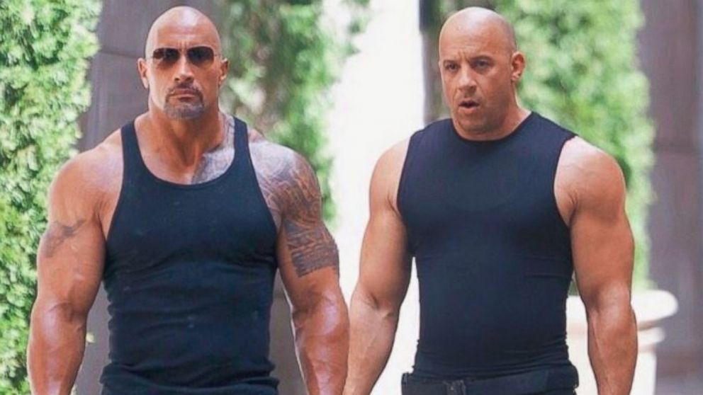 Vin Diesel says he's 'always rooting' for his 'Fast 8' co ...
