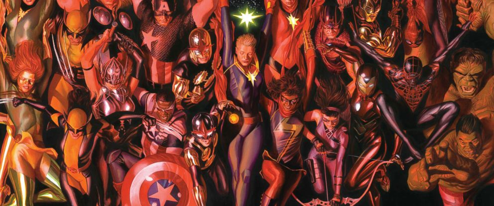 """PHOTO: Some of Marvel's mightiest heroes return for a new series """"Generations."""""""