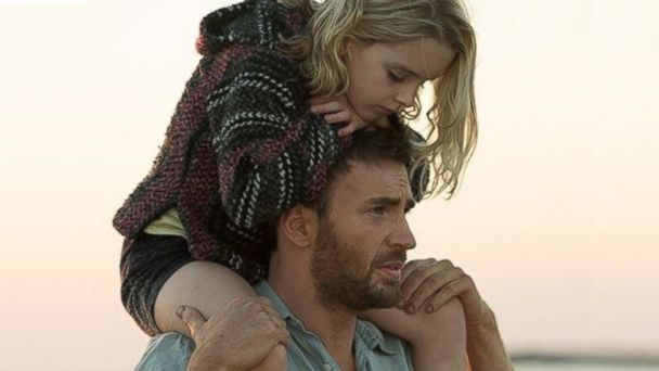 PHOTO: Chris Evans and McKenna Grace are pictured in a still from