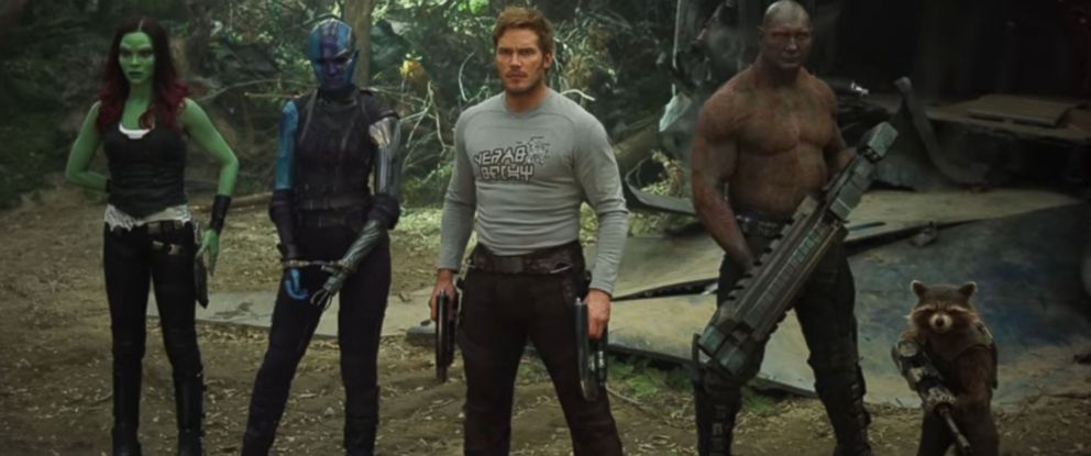 "PHOTO: A scene from ""Guardians of the Galaxy Vol. 2"" is seen here."