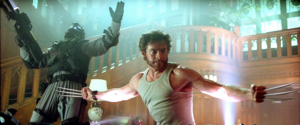 "PHOTO: Hugh Jackman, as Wolverine, in a scene from ""X-Men 2."""