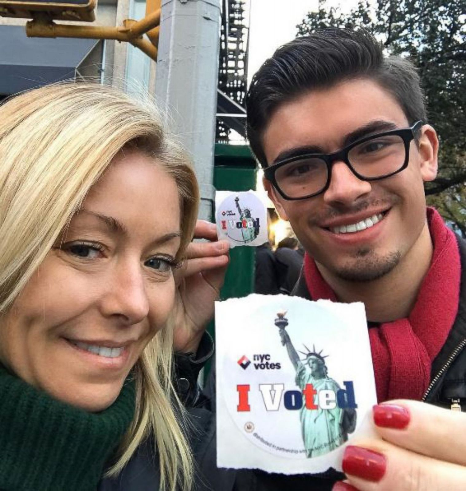 Kelly Ripa Takes Her Son to Vote for the 1st Time Picture | Kelly Ripa's  life in photos - ABC News