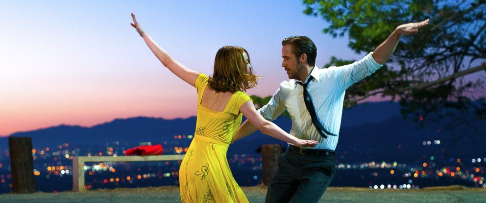 PHOTO: Ryan Gosling and Emma Stone are seen here in La La Land.