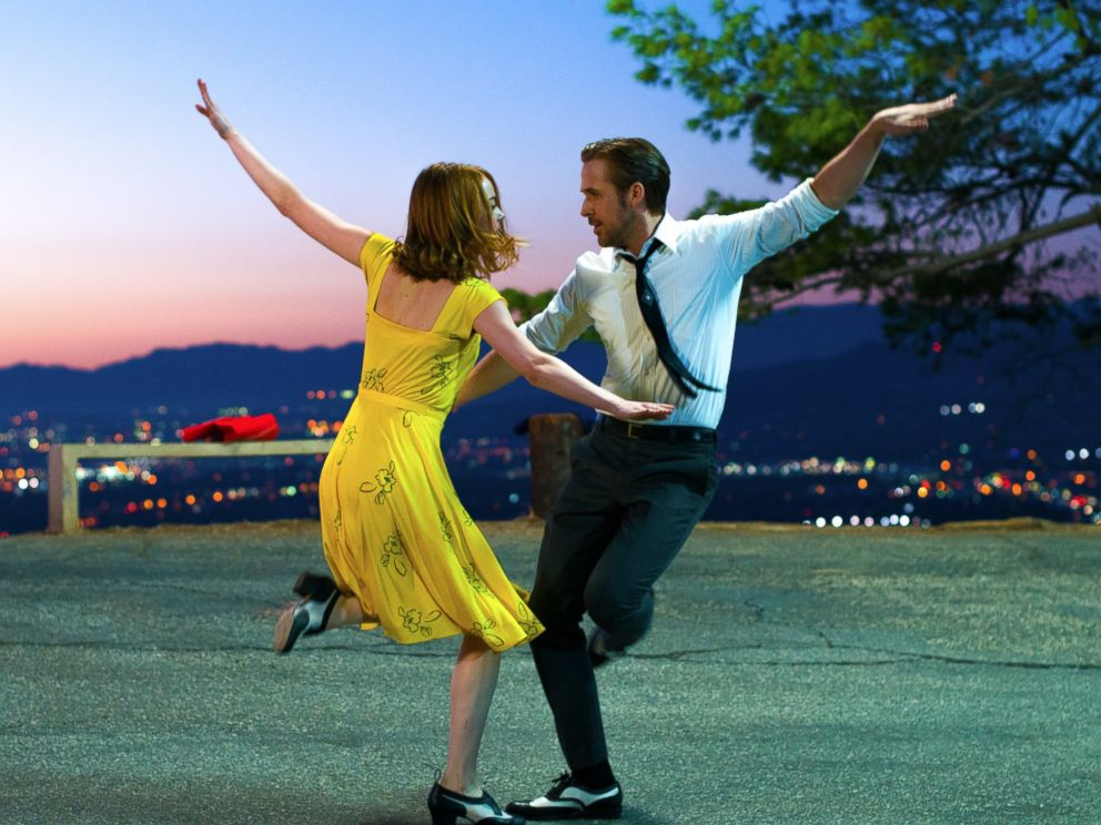 PHOTO: Ryan Gosling and Emma Stone are seen here in La La Land.