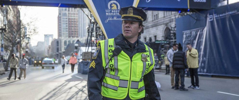 "PHOTO: Mark Wahlberg appears here in ""Patriots Day."""