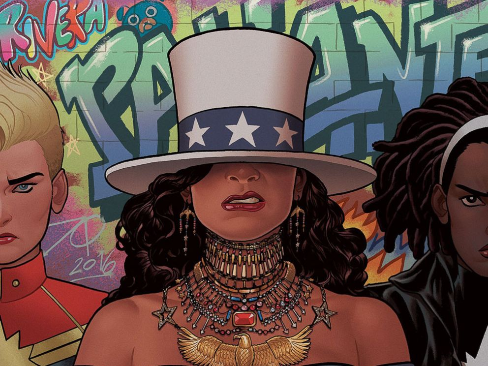 PHOTO: Beyonces Formation music video inspired the cover art for Marvels new America comic.
