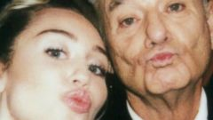 Miley Cyrus Snaps a Selfie With Bill Murray
