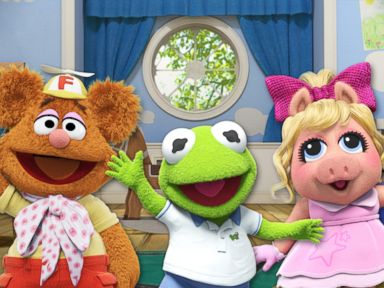 PHOTO: Disney began production on a new Muppet Babies series.