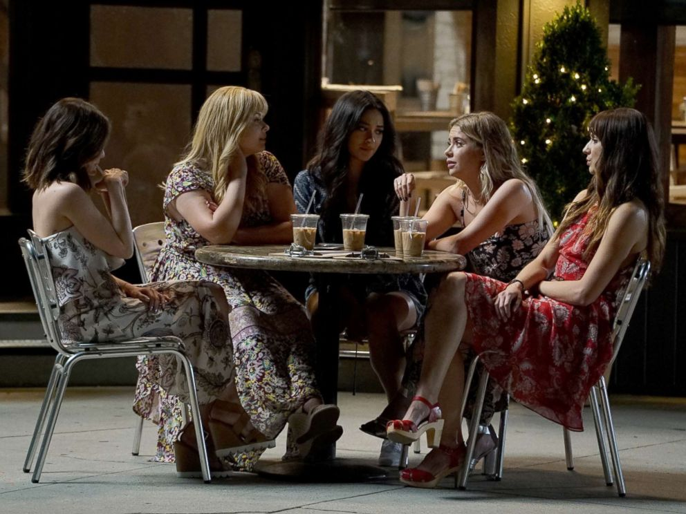 PHOTO: Seven seasons of secrets come tumbling out in the ABC two-hour series finale of the hit original series Pretty Little Liars, airing on ABC Tuesday, June 27.