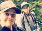 Reese Witherspoon takes son Deacon for a hike