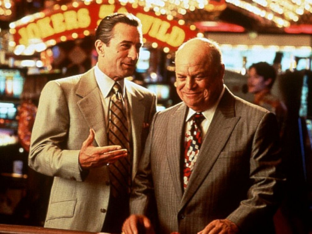 PHOTO: Robert De Niro, as Sam Ace Rothstein, left, and Don Rickles, as Billy Sherbet, in a scene from Casino.