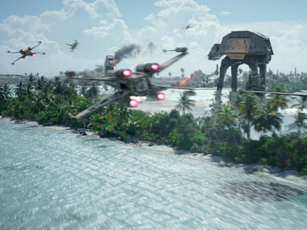 PHOTO: Scene from the movie Rogue One: A Star Wars Story.