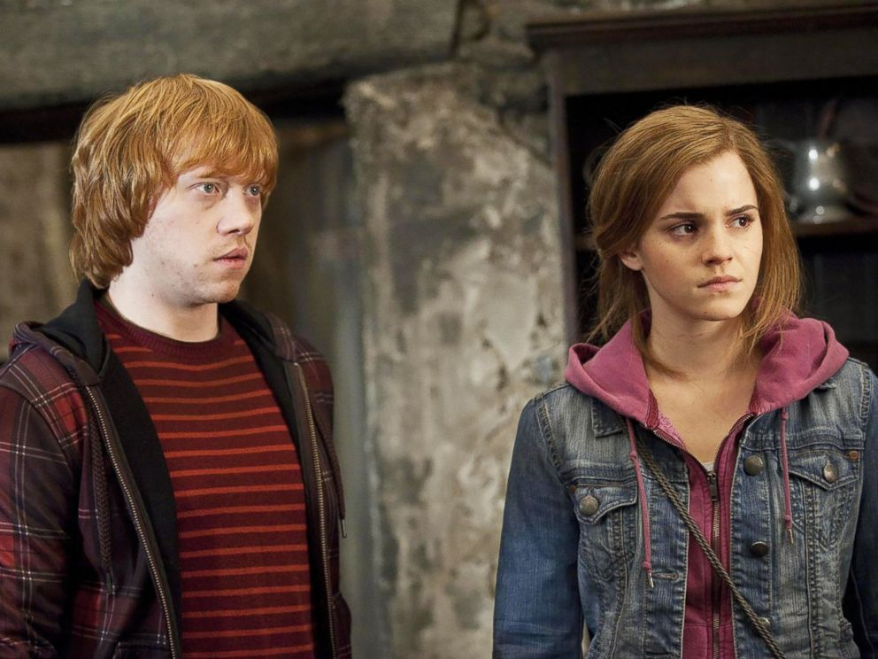 PHOTO: Rupert Grint and Emma Watson in Harry Potter and the Deathly Hallows: Part 2.