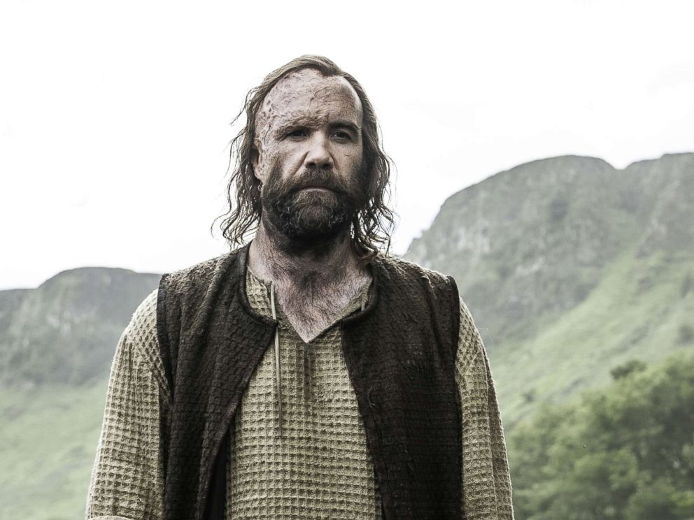 PHOTO: Rory McCann as Sandor Clegane in the Game of Thrones.