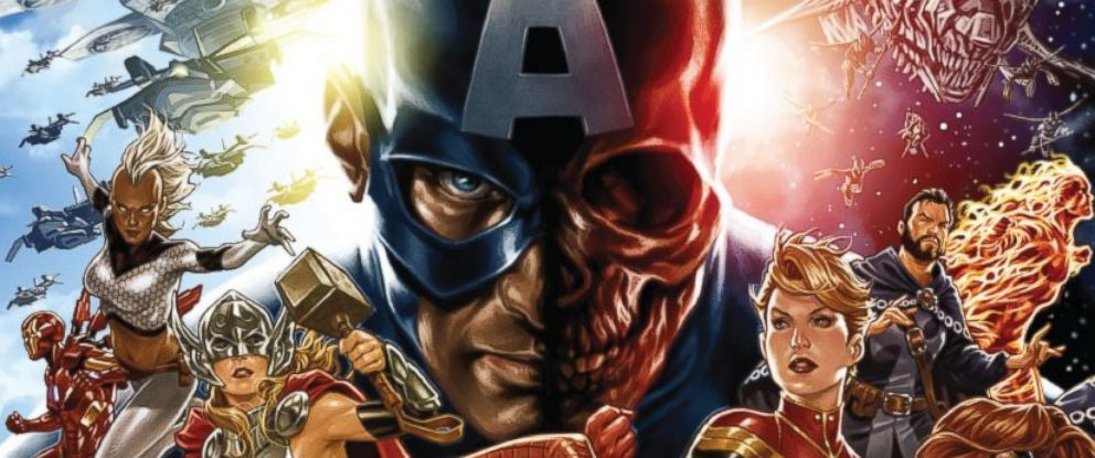 "PHOTO: Marvels ""Secret Empire #1."""