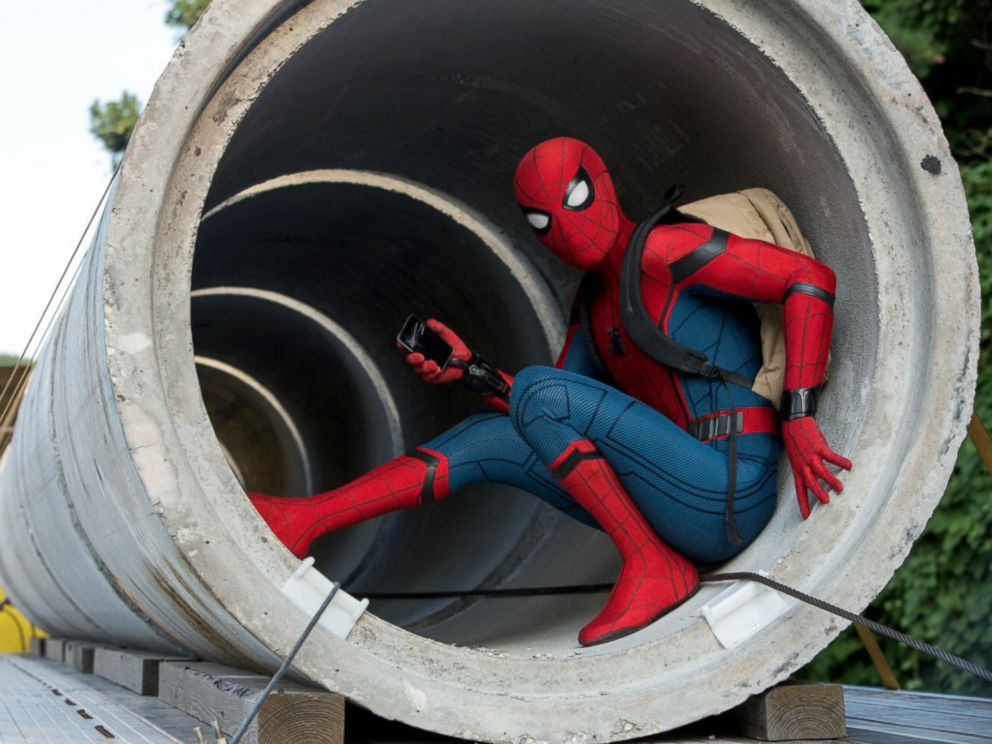 PHOTO: Tom Holland is Spider-Man in Columbia Pictures Spider-Man: Homecoming.
