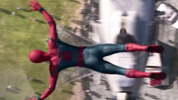 PHOTO: Tom Holand is Spider-Man in the
