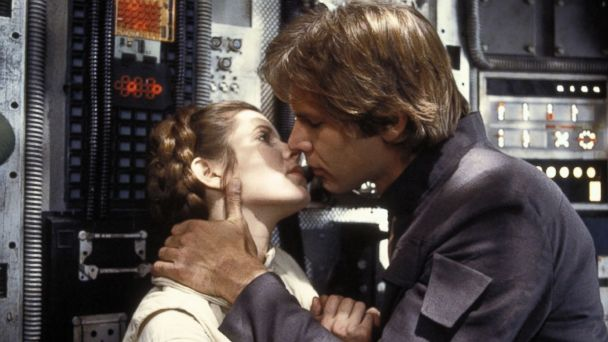 PHOTO: Carrie Fisher and Harrison Ford in a scene from