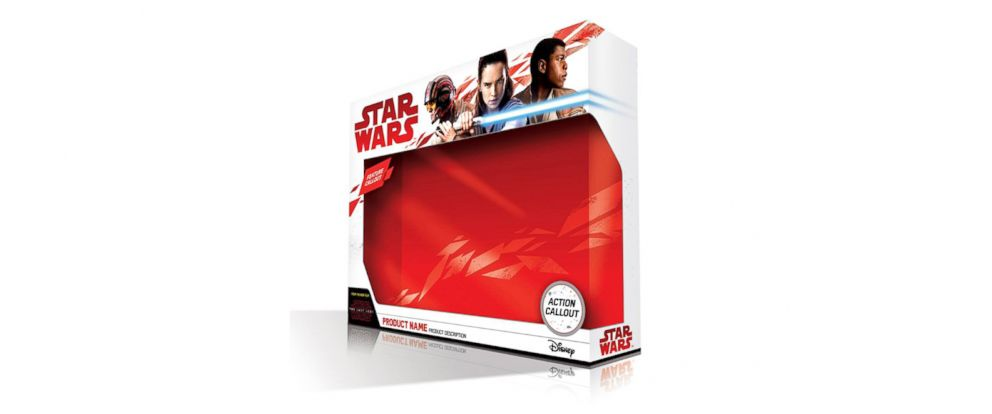PHOTO: Your first look at The Last Jedi product packaging dropping out of hyperspace on September 1 for Force Friday II.