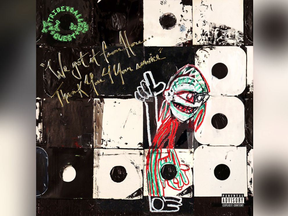 PHOTO: A Tribe Called Quest - We Got It From Here... Thank You 4 Your Service