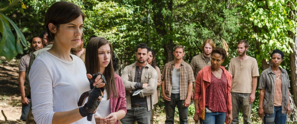 "PHOTO: The cast of ""The Walking Dead"" is seen here."