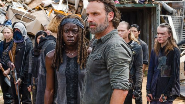 PHOTO: Andrew Lincoln and Danai Gurira are seen in an episode of