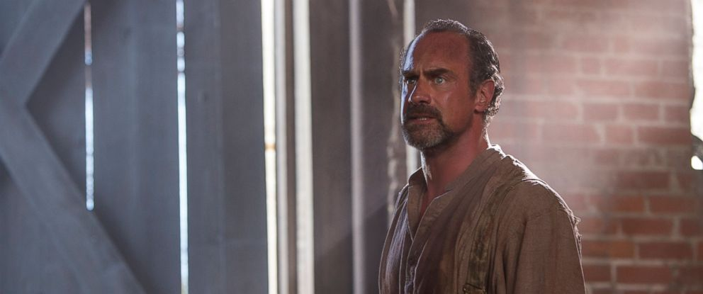 """PHOTO: Chris Meloni in character as August Pullman in the new series """"Underground"""" on WGN America, Season 1, Episode 1 ."""
