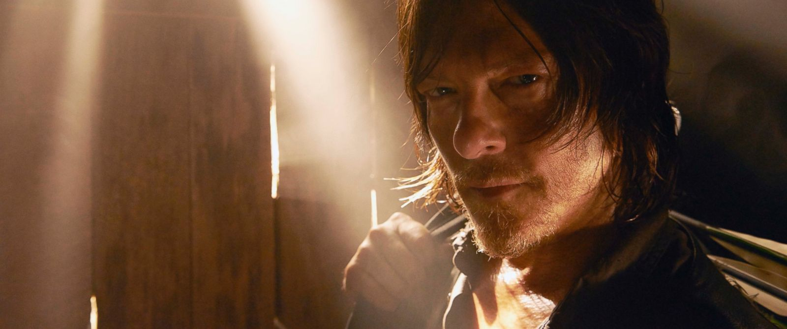 "PHOTO: Norman Reedus is seen playing Daryl Dixon in ""The Walking Dead"" season 5."