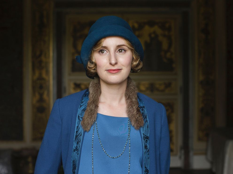 PHOTO: Laura Carmichael as Lady Edith in the series, Downton Abbey on March 6, 2016 on MASTERPIECE on PBS.