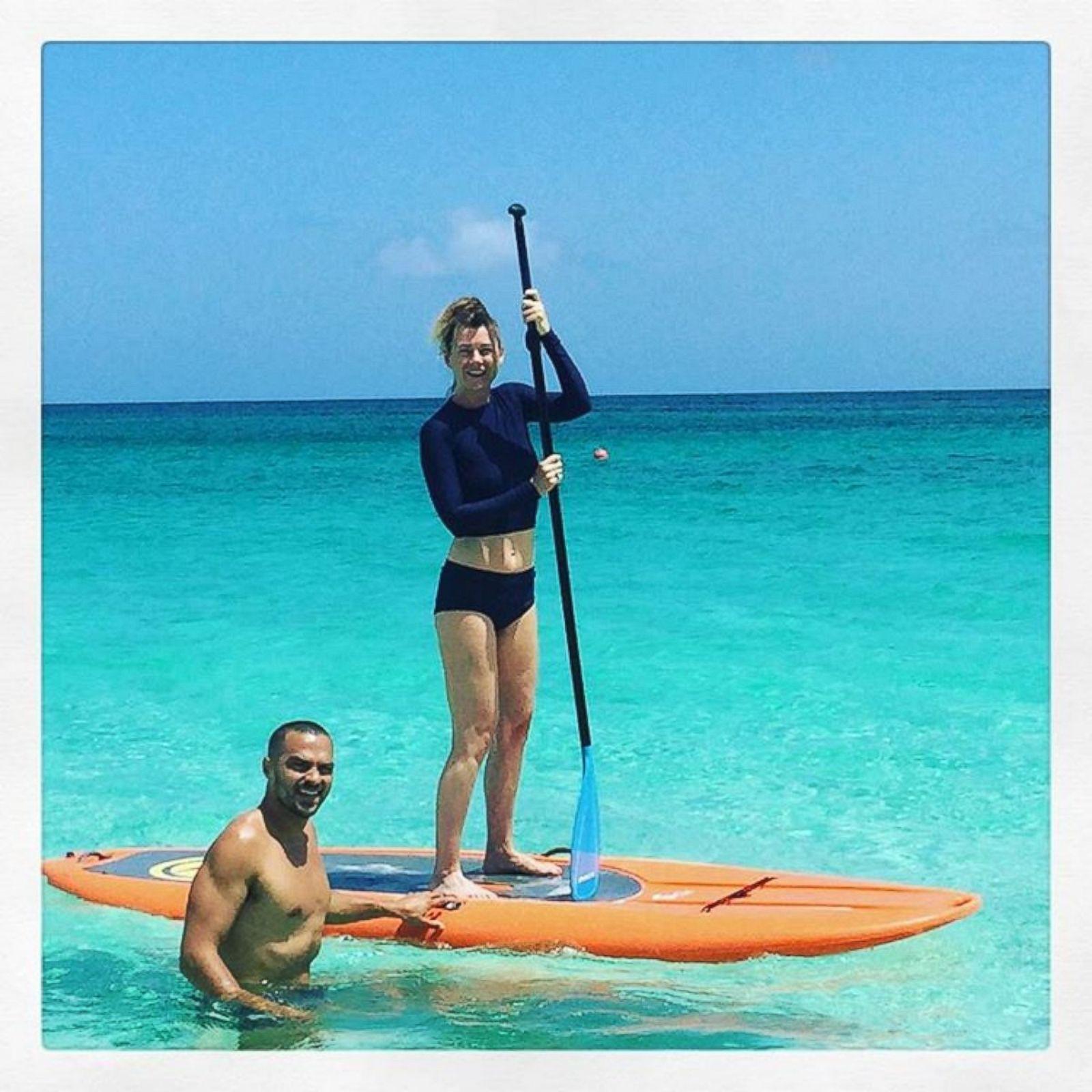 Celebrities on vacation Photos - ABC News