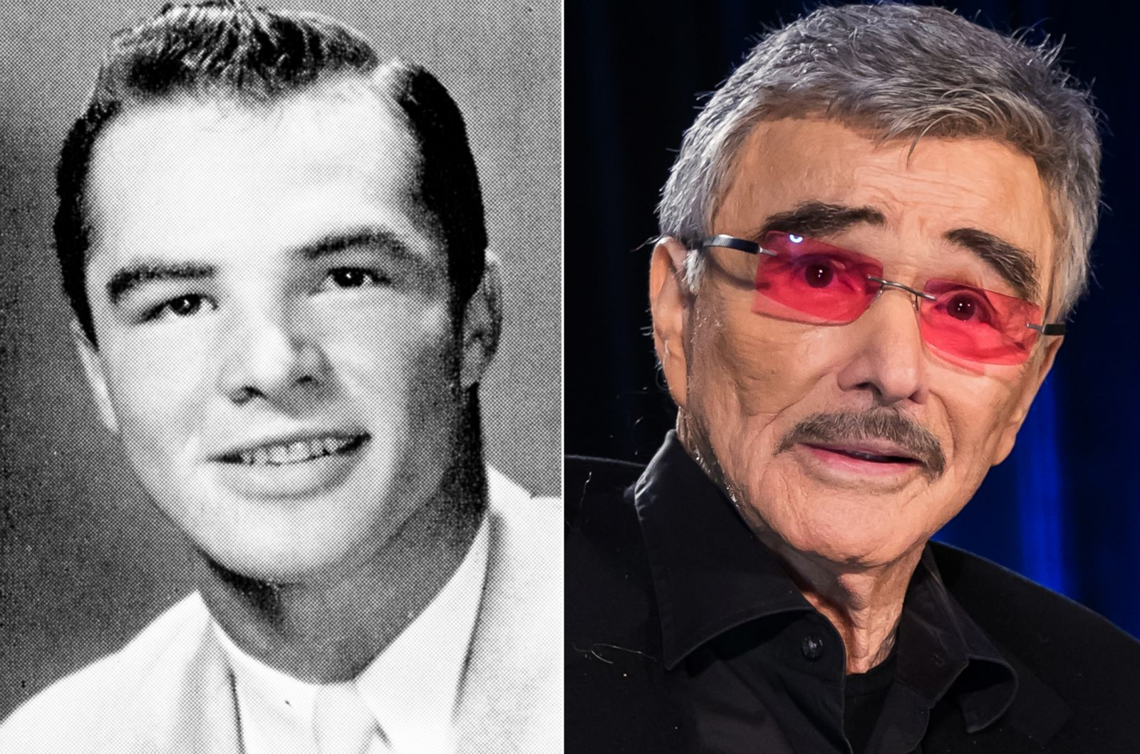 burt reynolds picture before they were famous abc news