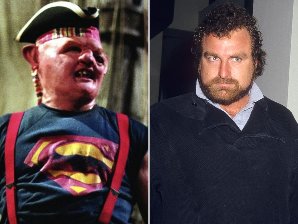 PHOTO: John Matuszak played Sloth in the 1985 film, The Goonies.