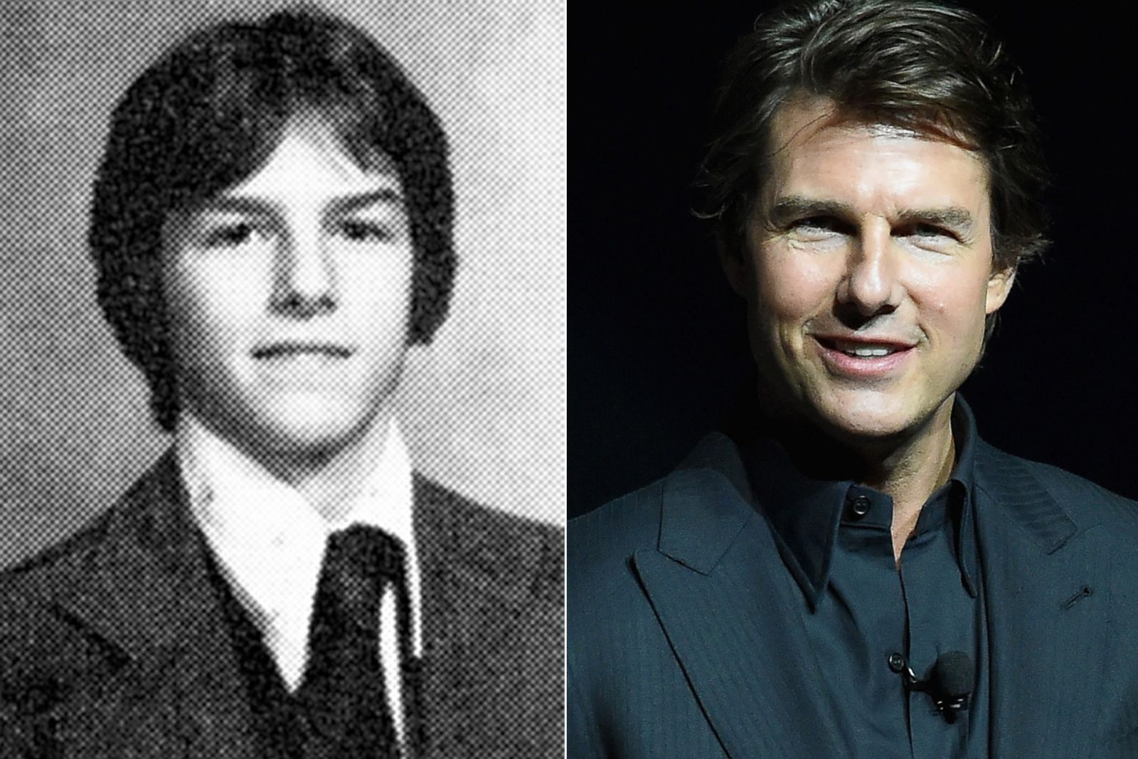 tom cruise picture before they were famous abc news