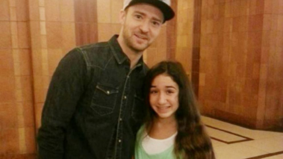 PHOTO: Giana DiLascio and Justin Timberlake