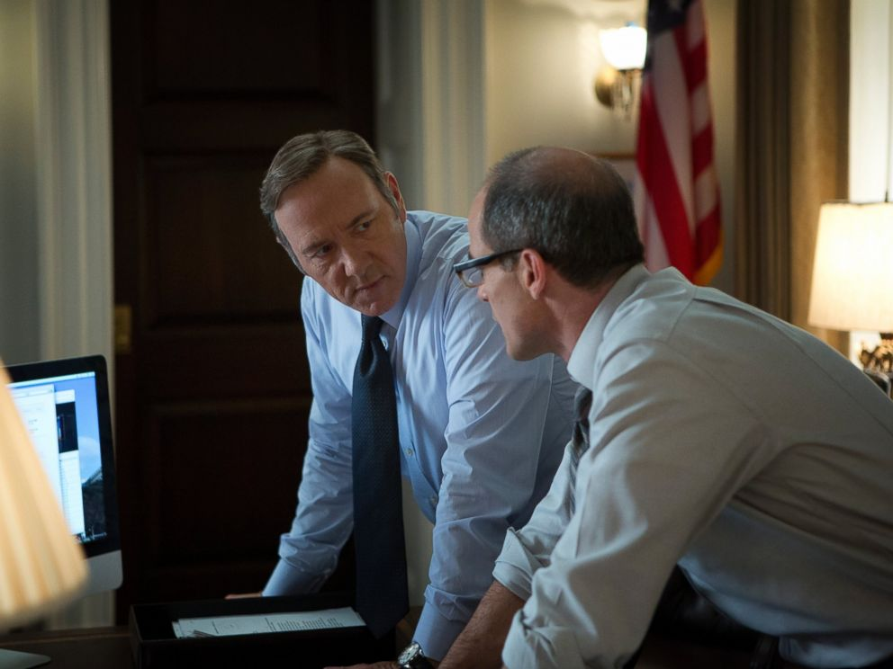 PHOTO: House of Cards, Season 1, episode 13.