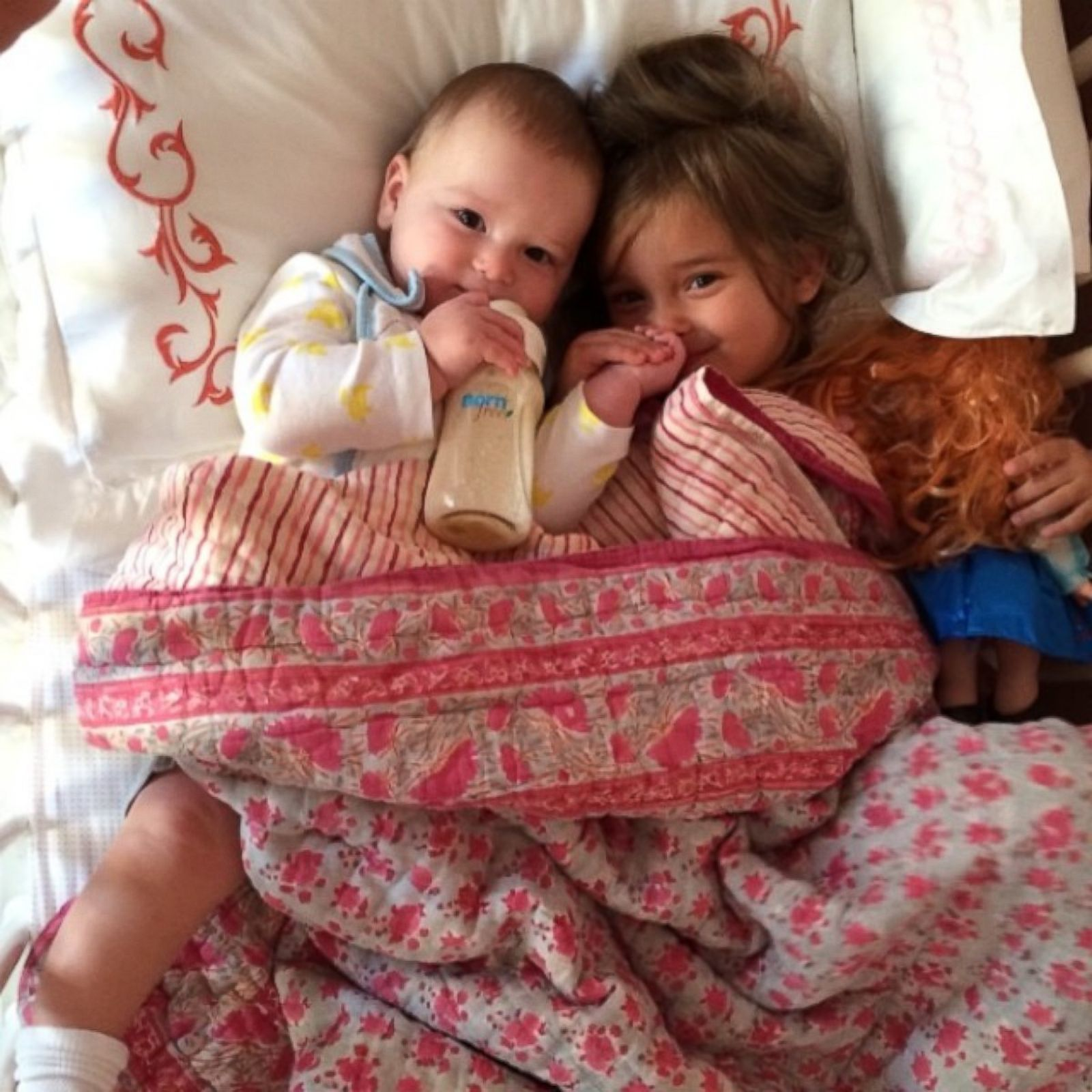 Ivanka Trump's Kids Snuggle in Bed Picture | Hollywood's ...